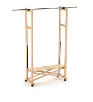 Folding coat rack 8487
